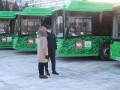 В Челябинске презентовали экологичные автобусы