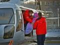 Вертолет санавиации совершил первую посадку на площадку ожогового центра в Челябинске