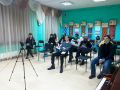 Челябинские  студенты  побеседовали с настоятелем Свято-Троицкого храма